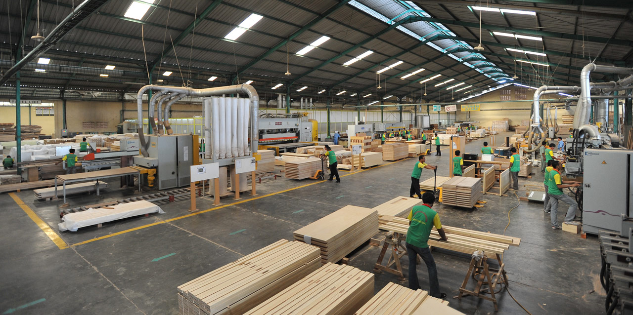 Nippo Tech Wood Furniture Factory Surabaya Indonesia